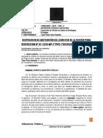 DISPOSICION DE ABSTENCION N°1406-2019 (CONDUCCION EN ESTADO DE EBRIEDAD)
