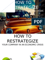 how to restrategize your company in an economic crisis