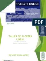 TALLER DE ÁLGEBRA LINEAL - Parcial II- I.pptx