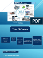 PresentationBIM softwares.pptx