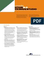 DIRECTOR® 8.5 SHOCKWAVE® STUDIO