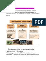 cuáles son los 3 sectores económicos de Venezuela