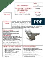 Ficha técnica de la lavadora