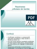 Rezolvarea Conflictelor Din Familie