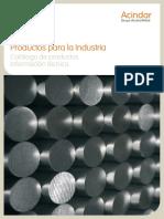 Productos para la Industria Catálogo de productos. Información técnica.