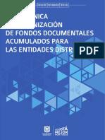 GUiA TECNICA DE ORGANIZACION DE FONDOS DOCUMENTALES ACUMULADOS .pdf