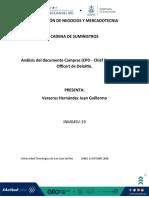 Análisis de El Documento Compras (CPO - Chief Procurement Officer) de Deloitte. JUAN VERACRUZ