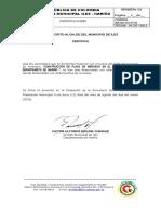 carta de presentaciòn LA UNION