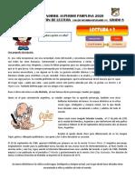 Maratón de lectura TALLER INTERDISCIPLINARIO #5  Lectura 3 Mafalda - Quino