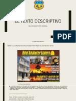 Texto Descriptivo- Actividad de Clase