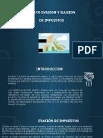 EVASION Y ELUSION DE IMPUESTOS.pptx