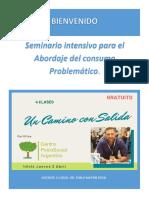 Seminario ADICCIONES UN CAMINO CON SALIDA (1)