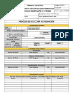 SE-FO-ET-1 - Formato de Entrevista - Proceso de Selección