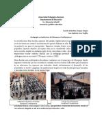 Pedagogía y arquitectura  MosqueraCund