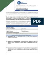 1. FORMATO PARA EL REGISTRO DE LA SITUACIÓN EDUCATIVA