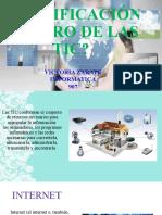 CLASIFICACIÓN DENTRO DE LAS TIC