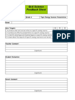 Energy Sources Presentation Assessment PDF
