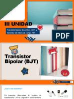 III UNIDAD transistores