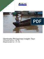 Cambodia Philippines Insight Tour - Tearfund New Zealand