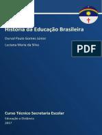 Caderno de Secretaria - Hist. da Educação Brasileira