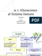 PPT 8º  Vacunas y Alteraciones al Sistema Inmune