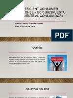 Efficient Consumer Response - ECR