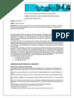 CHANDI.G. CADENA DE VALOR