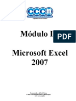 Mdulo 3 - Apostila Microsoft Excel 2007 - CCCM