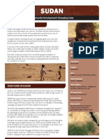 SUDAN Community Development - Tearfund New Zealand