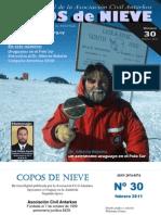 Copos de Nieve Nro 30 Febrero 2011
