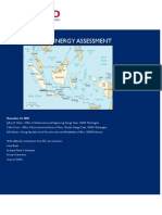 Indonesia Energy Assessment