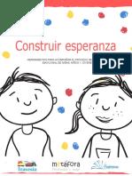 herramienta para acompañar el proceso de contención emocional en los niños y niñas.