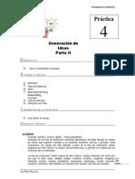 Práctica N°4 Generación de ideas - Parte II