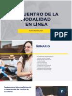ENCUENTRO DE MODALIDAD EN LINEA 1