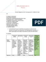 Plan 2017 perfil de egreso resumen