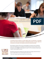 UPEI Entrance Scholarship 4pager 10-11
