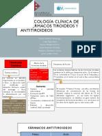 Fármacos tiroideos y antitiroideos