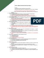PRACTICA DE TEMAS DE DERECHO PROCESAL PENAL II