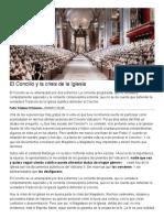 El Concilio y La Crisis de La Iglesia - Pedro Trevijano Etcheverria