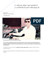 Félix Gallardo, El _Jefe de Jefes_ Que Cambió La Historia Del Narco y Enfrenta El Juicio Más Largo de México - BBC News Mundo