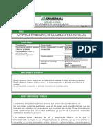 Laboratorio N. 6 ACTIVIDAD ENZIMATICA