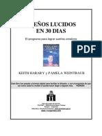 SUEÑOS LUCIDOS EN TREINTA DIAS  Harary Keith y Pamela Weintraub - Sueños Lúcidos En 30 Días