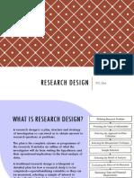 1b - Research Design