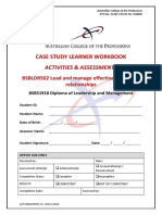 BSBLDR502 Learner Workbook