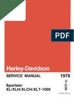 harley davidson 1970 78 sportster xl xlh xlch xlt 1000. Black Bedroom Furniture Sets. Home Design Ideas