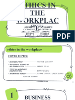 Ethics in the workplace Report