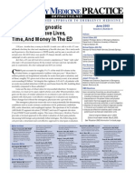 Chest Pain Diagnostic Strategies To save Lives time and money in the ED
