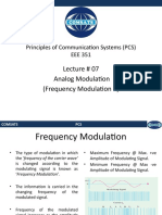 Lecture 07- Analog Modulation (Frequency Modulation II).pptx