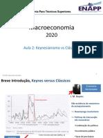 MEP2020L2 - Keynes versus the classics