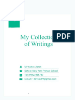 My Collection of Writings-WPS Office